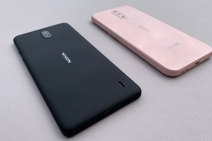 Nokia 1 Plus & Nokia 4.2 rear