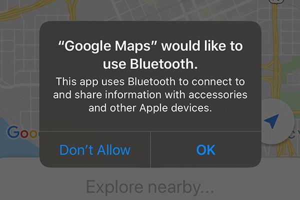 Google Maps Bluetooth
